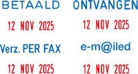 Mini-Dater S 160/L Datumstempel mit Fertigtext